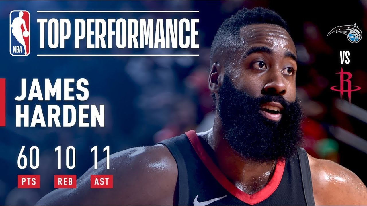 James Harden becomes the first player in NBA history to record ...