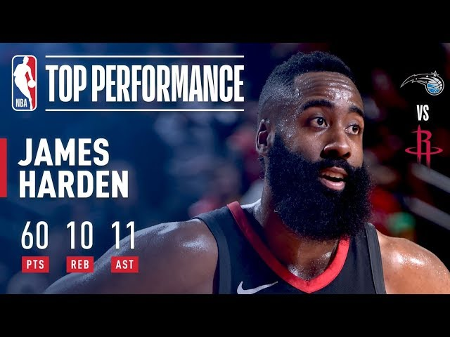 bdf2bfb376c James Harden s top five moments of 2018 - The Dream Shake