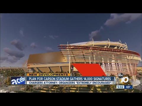 Carson stadium backers: We have 14K signatures