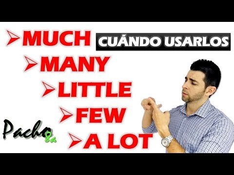 Download Cuándo usar MUCH - MANY - A LITTLE - A FEW - A LOT - Cuantificadores / Quantifiers