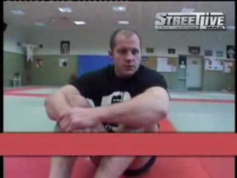 Fedor Emelianenko training