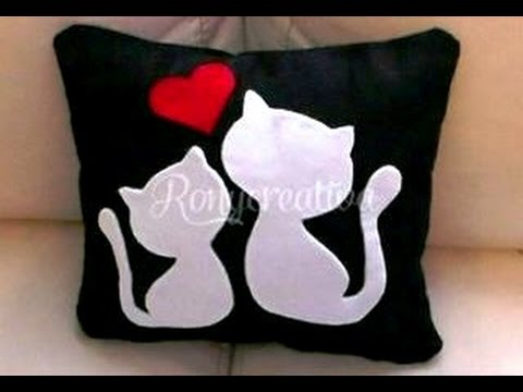 Hermoso coj n para el dia de las madres almohada de - Como hacer cojines decorativos ...