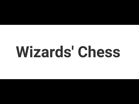 Wizards' Chess - IvLabs