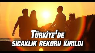 Cizre'de Türkiye'nin en sıcak günü yaşandı