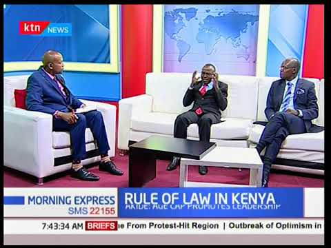 Morning Express - 22nd February 2018 - RULE OF LAW - [Part 2] - LSK goes to the polls