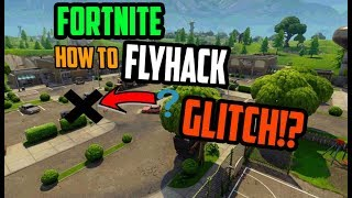 HOW TO GET UP IN THE SKY IN Fortnite Battle Royale! (GLITCH) [PATCHED]