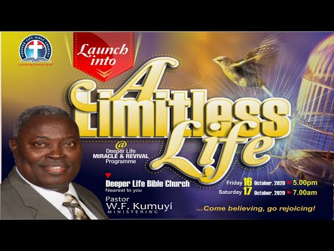 Monthly Revival and Miracle Program (October 17, 2020) Abundant Life In Jesus