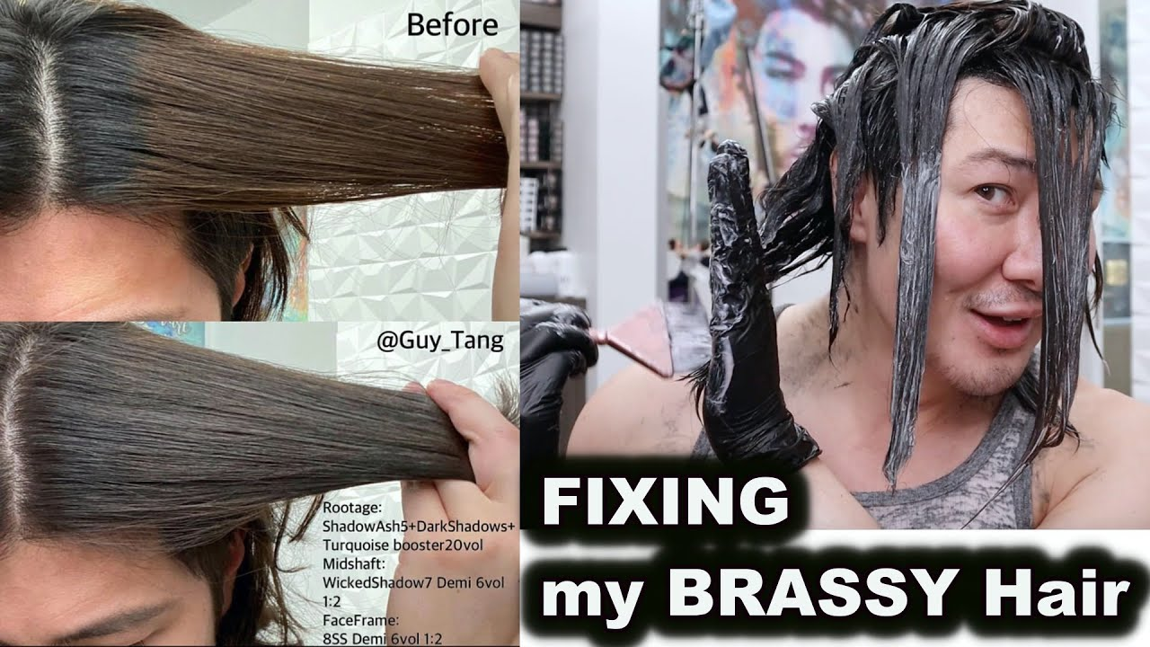 FIXING my BRASSY Hair