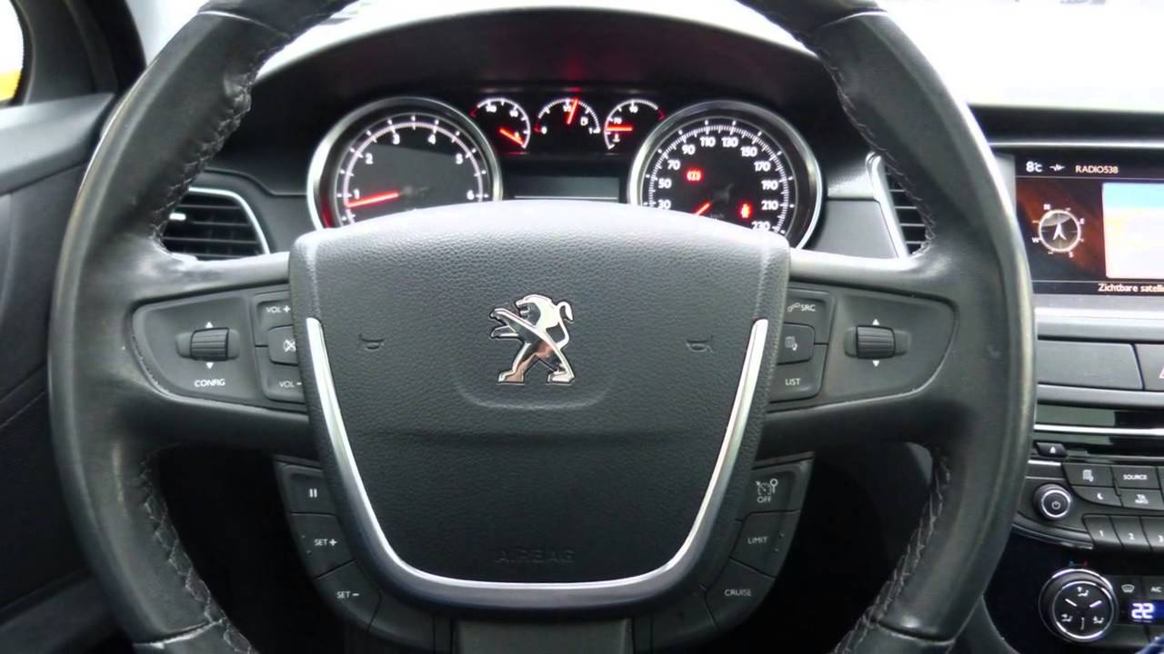 peugeot 508 sw 1.6 thp allure head-up display/winterbanden/trekhaak