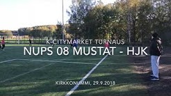 K-Citymarket turnaus: NuPS 08 Mustat - HJK