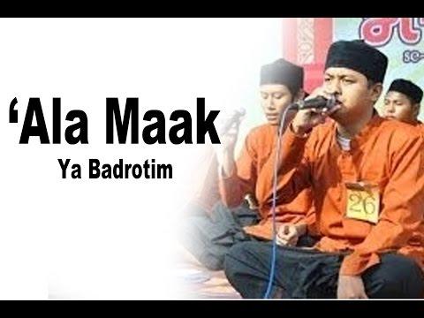 'Ala Maak [Ya badrotim] kualitas AUDIO HD
