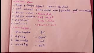 2018 6th tamil book video clip