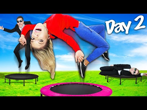Last To Stop Jumping Wins $10,000 Challenge! (Best Friend Daniel is Missing for 24 Hours) | Bad Idea
