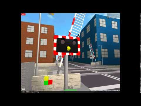 Roblox - Level Crossing with Halogen Lights