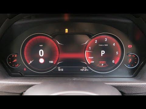 Coding in BMW G30: Blue version digital speedo activation in