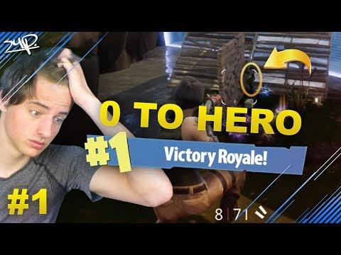 Van ZERO naar HERO #1 || Fortnite: Battle Royale Nederlands [LIVE]
