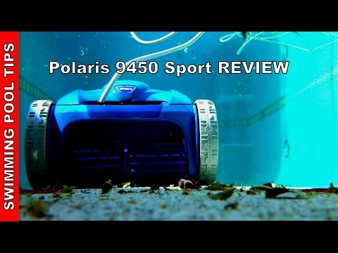 Polaris 9450 Sport Robotic Pool Cleaner - Review