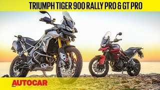 Triumph Tiger 900 Rally Pro & Tiger 900 GT Pro | First Ride | Autocar India