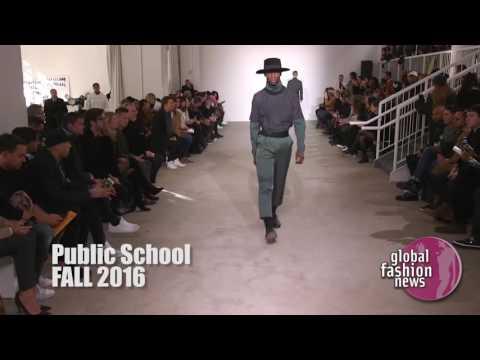 Public School Fall/Winter 2016 Men