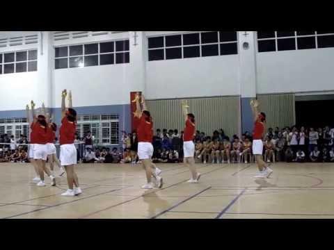 Đồng diễn bài thể dục nữ lớp 9 - Trường THCS Nguyễn Thị Định năm học 2013 -2014
