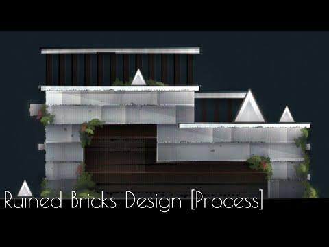 【GD 2.11】Artcore Style: Ruined Brick Design [Breakdown Process]