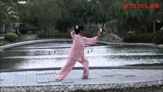 Yang Style 85 Form Tai Chi Quan 楊氏85式太極拳 ( Fanny Ng ) 音樂版