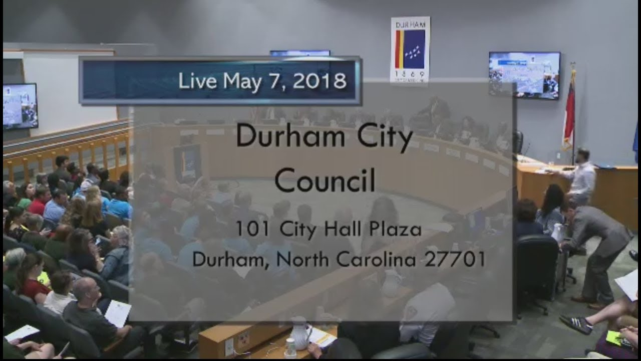 Durham City Council May 7 2018 Youtube