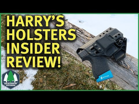 Harry's Holsters Insider Review   Everyday Carry IWB Holster