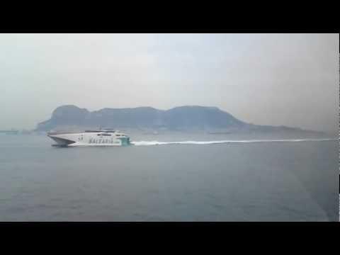 Algeciras - Ceuta Ferry Cruise: Passing Gibraltar (1)