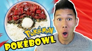 POKEMON POKEBALL IN MY POKE BOWL || It's Super Effective! - Ep. 505