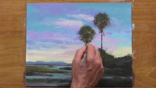 Painting a Palm Tree DEMO