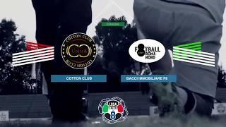 Cotton Club 3-1 Bacci Immobiliare F8 | Play-Off Scudetto - Semifinale (Ritorno) | Highlights