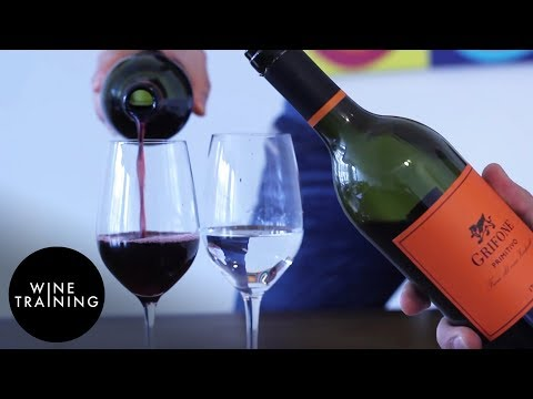 Wine Service - How to Pour Wine - YouTube