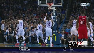 VIDEO - Thunder wins, but Westbrook sprains ankle