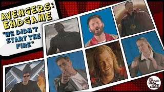 "Avengers: Endgame Cast Sings ""We Didn't Start the Fire"" thumbnail"
