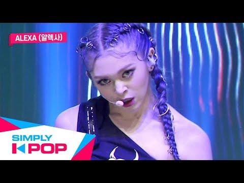 [Simply K-Pop] AleXa(알렉사) _ Bomb _ Ep.387 _ 110819