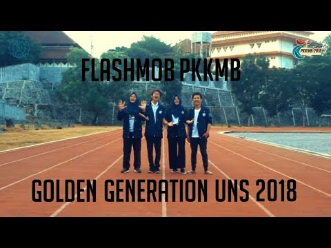 "FLASHMOB PKKMB ""GOLDEN GENERATION UNS 2018"""