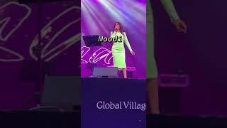 لأول مرة اليسا تغني هخاف من ايه لايف في حفل القرية العالمية بدبي 😍😍