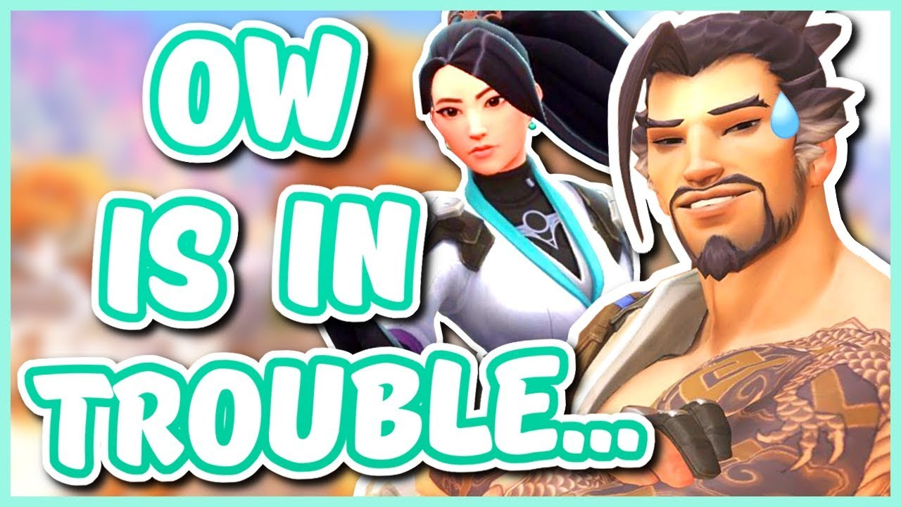 Overwatch - OVERWATCH MIGHT BE IN TROUBLE... (Valorant) thumbnail