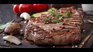 Готовим вкусные стейки из мраморной говядины Чак рол
