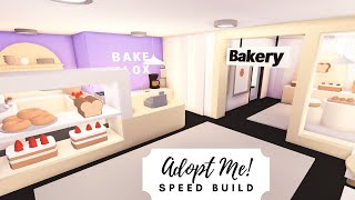 Cute Lavender Bakery Speed Build  Roblox Adopt Me!
