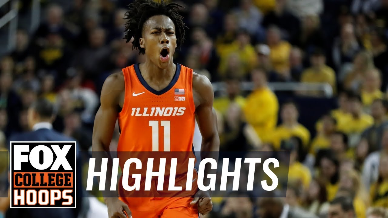 Dosunmu's career day lifts Illinois past Michigan in final seconds  HIGHLIGHTS