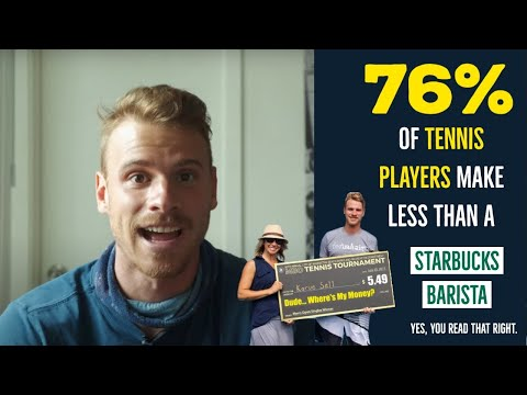How Much MONEY Do Tennis Players Make? - The UGLY TRUTH