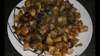 Жаркое с грибами. Картошка с грибами.