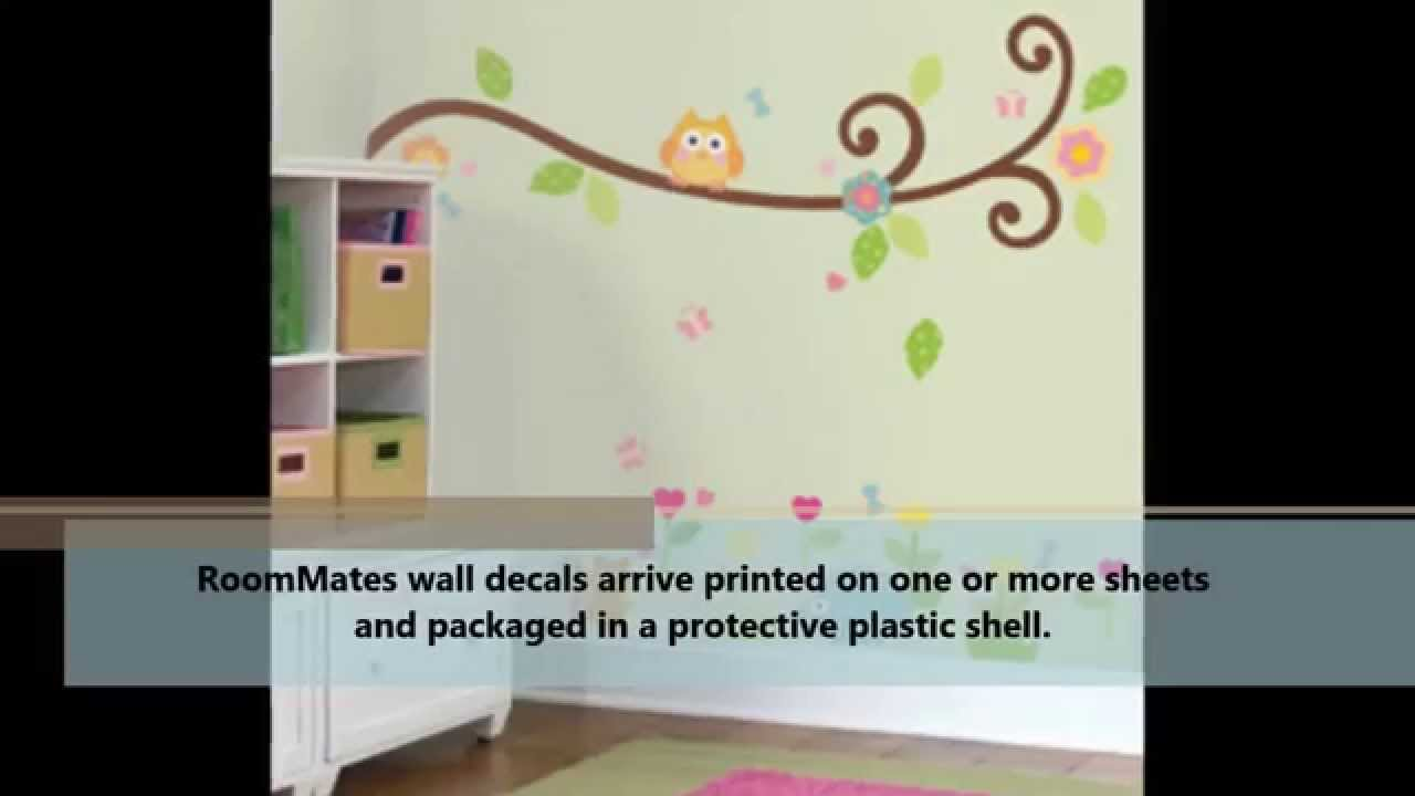 Tree Peel U0026 Stick Wall Decal Review   Does RoomMates Tree Peel U0026 Stick Wall  Decal Work?   YouTube