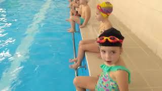 Обучение плаванию детей 3 - 4 года