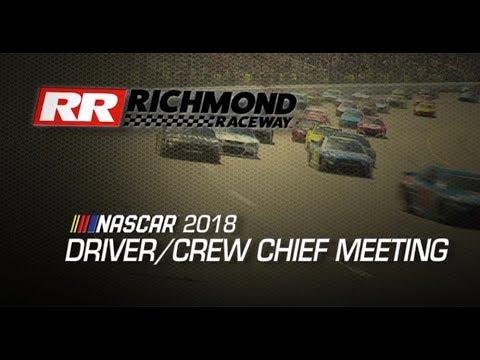 Driver Meeting Video: Richmond