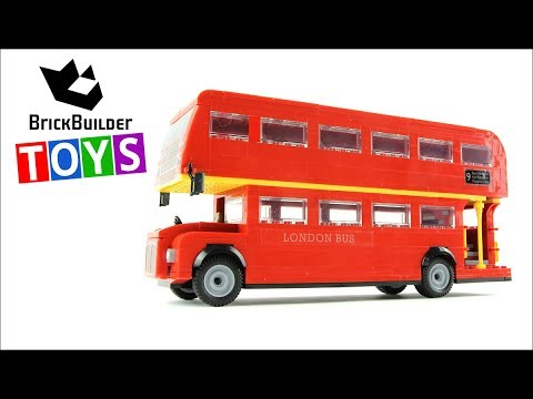 cobi london bus brick builder toys lego speed build youtube. Black Bedroom Furniture Sets. Home Design Ideas