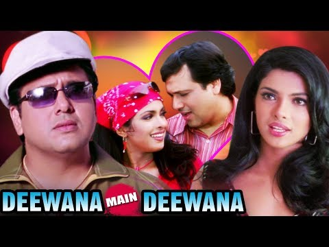 Deewana Main Deewana Full Movie | Priyanka Chopra Hindi Romantic Movie | Govinda Hindi Movie