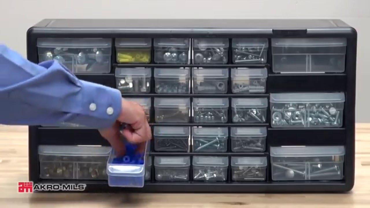 akromils plastic storage cabinets - Akro Mils